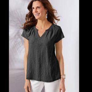 Soft Surroundings Women Isla Del Sol shirt